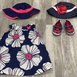 Dress/hat/shoe set